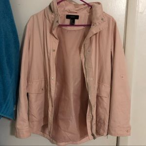 DUSTY PINK UTILITY JACKET